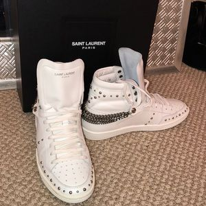 SAINT LAURENT White Sneakers